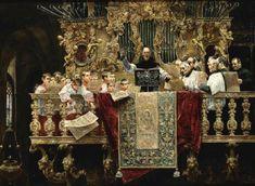 José Gallegos y Arnosa (1857-1917) —  Children's Chor   of Seville  (841x615)