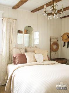 DIY Budget-Friendly Farmhouse Bedroom Makeover