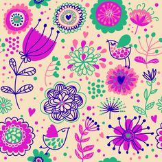 Be Diff - Estampas florais   Floral_07 by Oliver