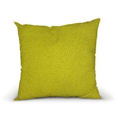 Housse Coussin Litchi Vert oreiller décoratif par HotteCouture