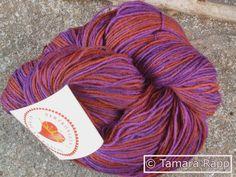 Stilles Serail - handgefärbte Sockenwolle von HerzKönigin auf DaWanda.com