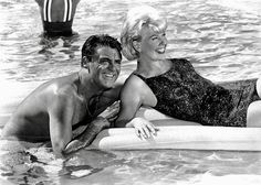 "Cary Grant and Doris Day ""That Touch of Mink"" (1962)."