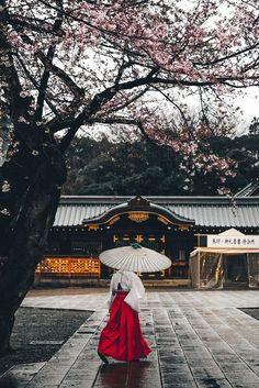 Yasukuni Shrine, Tokyo, Japan