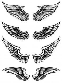 Eagle Wing Tattoos, Wing Tattoo Men, Wing Tattoo Designs, Hand Tattoos, Sleeve Tattoos, Back Tattoos For Guys, Wing Tattoos On Back, Minimal Tattoo Design, Wings Drawing