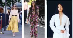 MYRIAM VOLTERRA:  LUXURY BUYING OFFICE  Fashion influencers: Olivia Palermo in Fendi, Demi Moore in Gucci and  Chen Lin in Burberry.  Repost by Fendi, Gucci, Burberry.