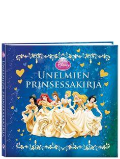 Prinsessat: Unelmien prinsessakirja esittelee Disneyn rakastetuimmat prinsessat Ruususesta Arieliin. Hauskojen tarinoiden ja suloisten runojen lisäksi kirjassa kurkistetaan prinsessojen salaisuuksiin ja saadaan ihania reseptejä sekä juhlavinkkejä.