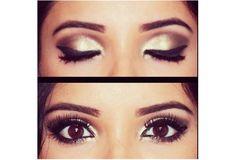 #brown #eyes #makeup