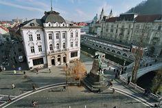 Prešeren Square (Slovene: Prešernov trg), Ljubljana