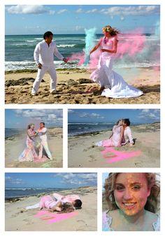 Hermosas fotos de trash the dress. Inspírate más en bodatotal.com/