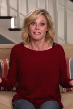 Claire Dunphy wearing Joie Zephyrine Drop Shoulder Sweater