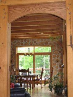 timberframe post and beam barn home