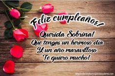imagen de feliz cumpleaños para mi sobrina querida Birthday Wishes, Girl Birthday, Birthday Cards, Happy Birthday Pictures, Happy Thursday, Picture Quotes, Special Occasion, Birthdays, Presents