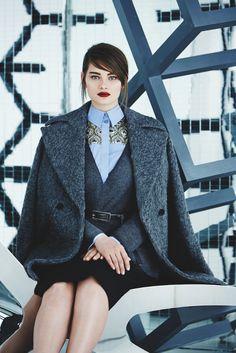 Take a look at Marina RInaldi Collection for the Winter 2014! Moda Per  Ragazze Formose d24bce1c2eb