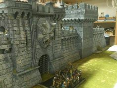 Warhammer Aquí - Fortaleza Warhammer Fantasy Torre del Homenaje pag8 casi terminada - Pintura y Modelismo