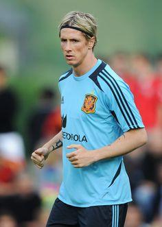 Fernando Torres, Spain Euro 2012 Training Session
