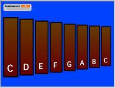 Nebo Elementary School Department of Fine Arts Virtual Xylophone