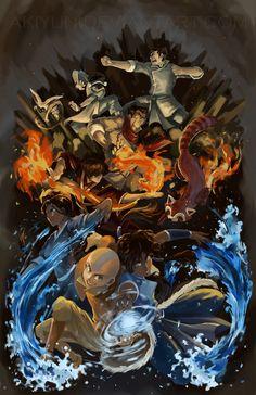 Avatar: The Old and New by AkiYun.deviantart.com on @deviantART