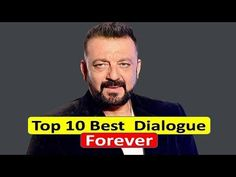 Sanjay Dutt Top 10 best dialogue Forever | Sanjay Dutt Best Movie Dialog... Movie Dialogues, Bollywood, Health, Movies, Top, Health Care, Films, Salud, Movie Quotes