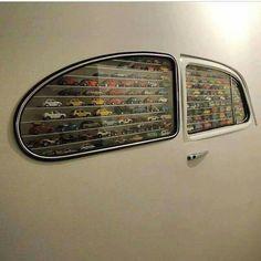 Decoración vitrina para coches