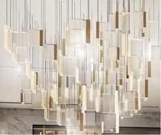 Custom Lighting, Cool Lighting, Chandelier Lighting, Modern Lighting, Chandeliers, Lighting Concepts, Lighting Design, Light Art, Lamp Light