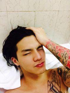Cap's sleeve tattoo is soooo hot