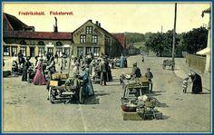 Fredrikshald Fisketorvet ca 1900