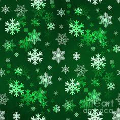 ark Green Snowflakes