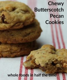 Chewy Butterscotch Pecan Cookies: The Only Sweet Recipe You'll Need :: YummyMummyClub.ca