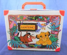 Disney Lion King Lunchbox Memorabilia for sale on Trade Me, New Zealand's auction and classifieds website Disney Lion King, Childhood Memories, Lunch Box, The Originals, Vintage, Vintage Comics, Primitive