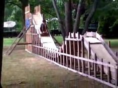 coolest backyard roller coaster!