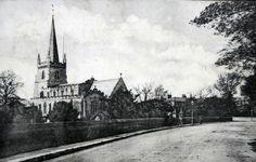 Methley Church 1900s