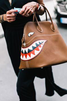 fighter jet inspired handbag