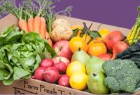 Farm Fresh To You - Just ordered my first box and super excited to have fresh produce delivered right to my doorstep!