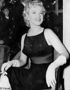La petite robe noire selon Marilyn Monroe
