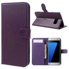 Köp Mobilfodral Samsung Galaxy S7 Edge fjäril lila online: http://www.phonelife.se/mobilfodral-samsung-galaxy-s7-edge-fjaril-lila