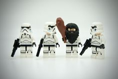 https://flic.kr/p/ZSBRtW | LEGO Stormtrooper Caveman | Lego Star Wars Stormtroopers Online with a Caveman Member ...