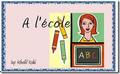 Here is a cute little easy reader book in French for your students who are learning to read French.