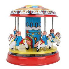 BQLZR Vintage Multicolour Tin Toy Iron Sheet Merry Go Rou... https://www.amazon.com/dp/B00Q2J3L7C/ref=cm_sw_r_pi_dp_lPewxbXBWXHXR