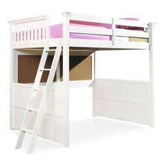 full loft bed plans | Full Size Loft Beds For Girls | Woodworking Project Plans