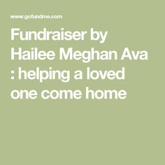 Fundraiser by Hailee Meghan Ava : helping a loved one come home
