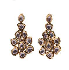 #Kundan #Earrings | Code - ER-3