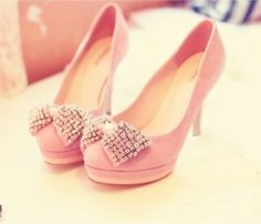 #heels #shoes #pink #cute #love