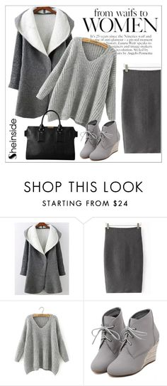 """Sheinside"" by water-polo ❤ liked on Polyvore featuring WithChic, Burberry, Sheinside, polyvoreeditorial and waterpolo"