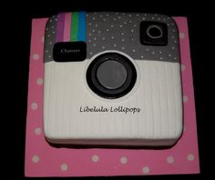 Instagram Cake Instagram Birthday Party, Instagram Party, Instagram Cake, 13th Birthday Parties, 14th Birthday, Teen Birthday, Birthday Ideas, Birthday Board, Birthday Cake