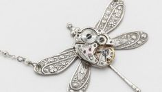 steampunk-necklace-watch-movement-flower-leaf-silver-dragonfly-pearl-crystal-victorian-statement-pendant-steampunk-jewelry-89717896-1.jpg (350×200)