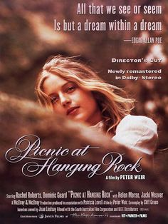 picnic at hanging rock(1975)//Directed by Peter Weir//Starring Anne-Louise Lambert(Miranda)/Margaret Nelson(Sara)//ピクニック・アット・ハンギングロック