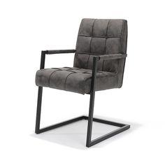 Verkrijgbaar in de kleuren: Antraciet, Cognac & Zandbeige Outdoor Chairs, Outdoor Furniture, Outdoor Decor, Interior Design, Vintage, Home Decor, Products, Nest Design, Home Interior Design