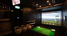 For your Home, full swing golf