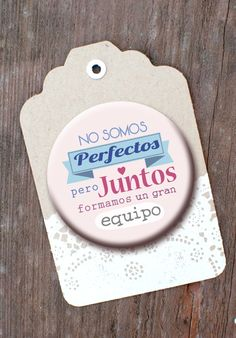 Seguro que estos días hay para todos un presente o un pequeño detalle... Imanes con frases bonitas dedicadas a las familias. :) Mondo Lirondo
