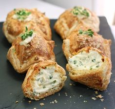 cheese filled pastries